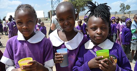Fadderbarn i Kenya
